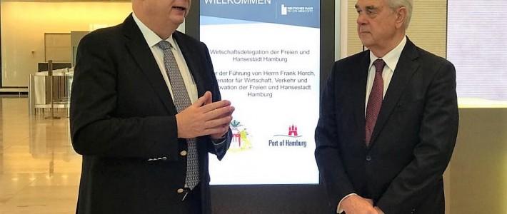 Frank Horch besucht Vietnam mit einer Wirtschaftsdelegation
